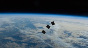 3 CubeSats deployed from the ISS in 2013. There is a growing small satellite industry.