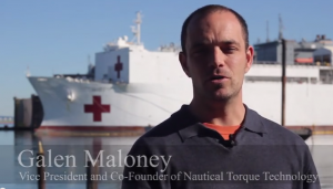 Galen Maloney, Vice President of Nautical Torque Technology.